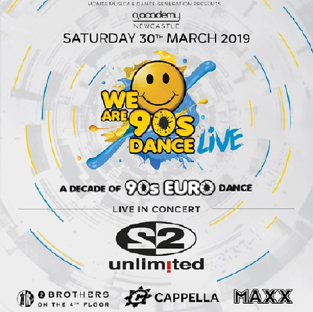 We Are 90's Dance LIVE 001