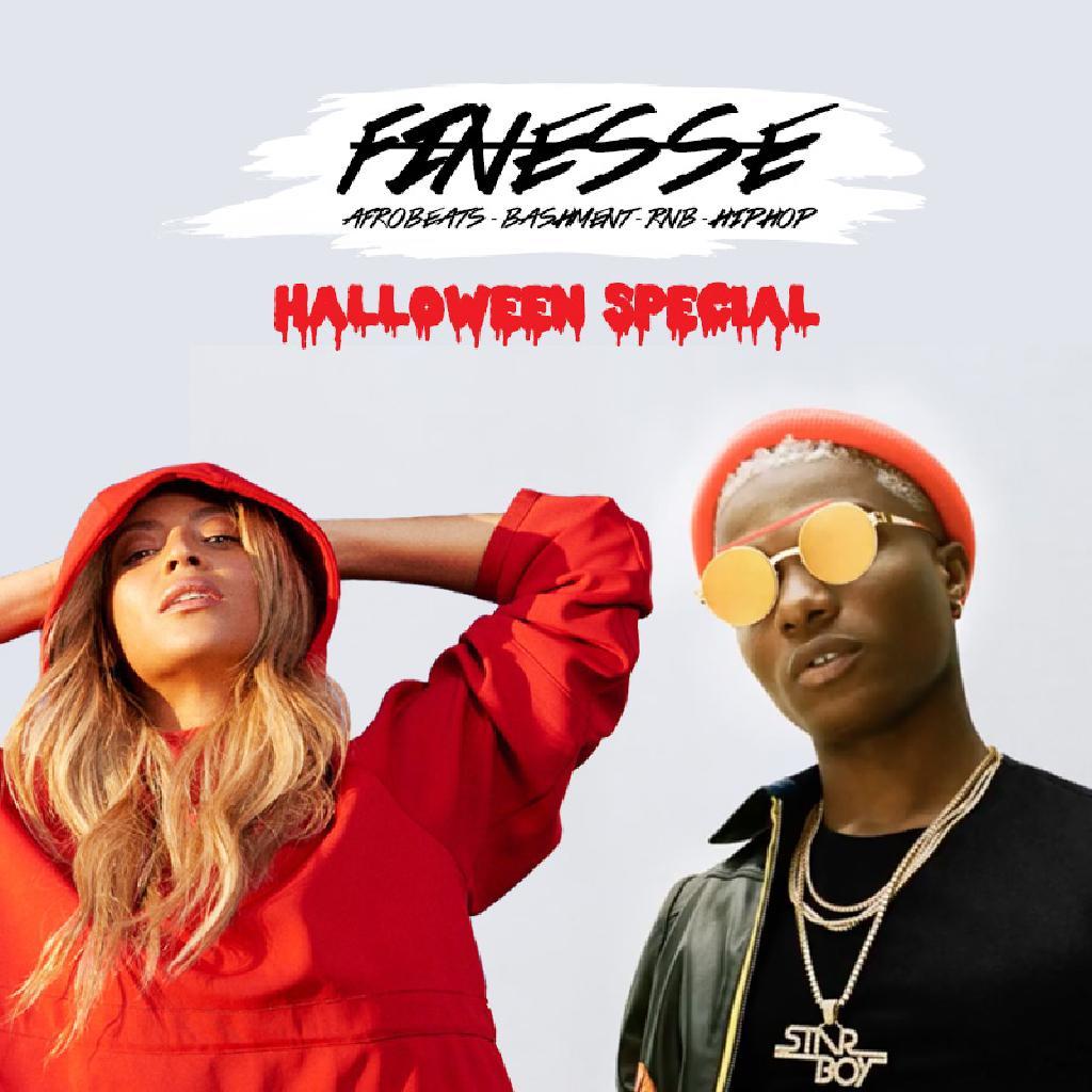 FINESSE - Halloween Special ★ Afrobeats, Bashment, Hip Hop & RnB