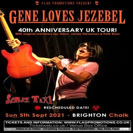 Flag Promotions present Gene Loves Jezebel 40th Anniversary Tour
