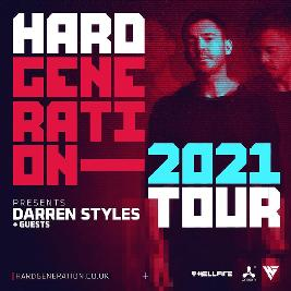 Hard Generation 2021 Tour Presents Darren Styles Tickets | Panama Amsterdam  | Fri 23rd April 2021 Lineup