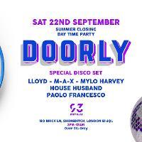 Disco Disco - Summer Closing Party - DOORLY