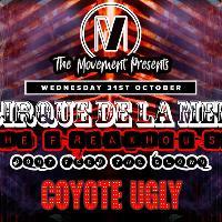 Cirque de la Mer; The Freakhouse - 31/10/18 | Cardiff Halloween