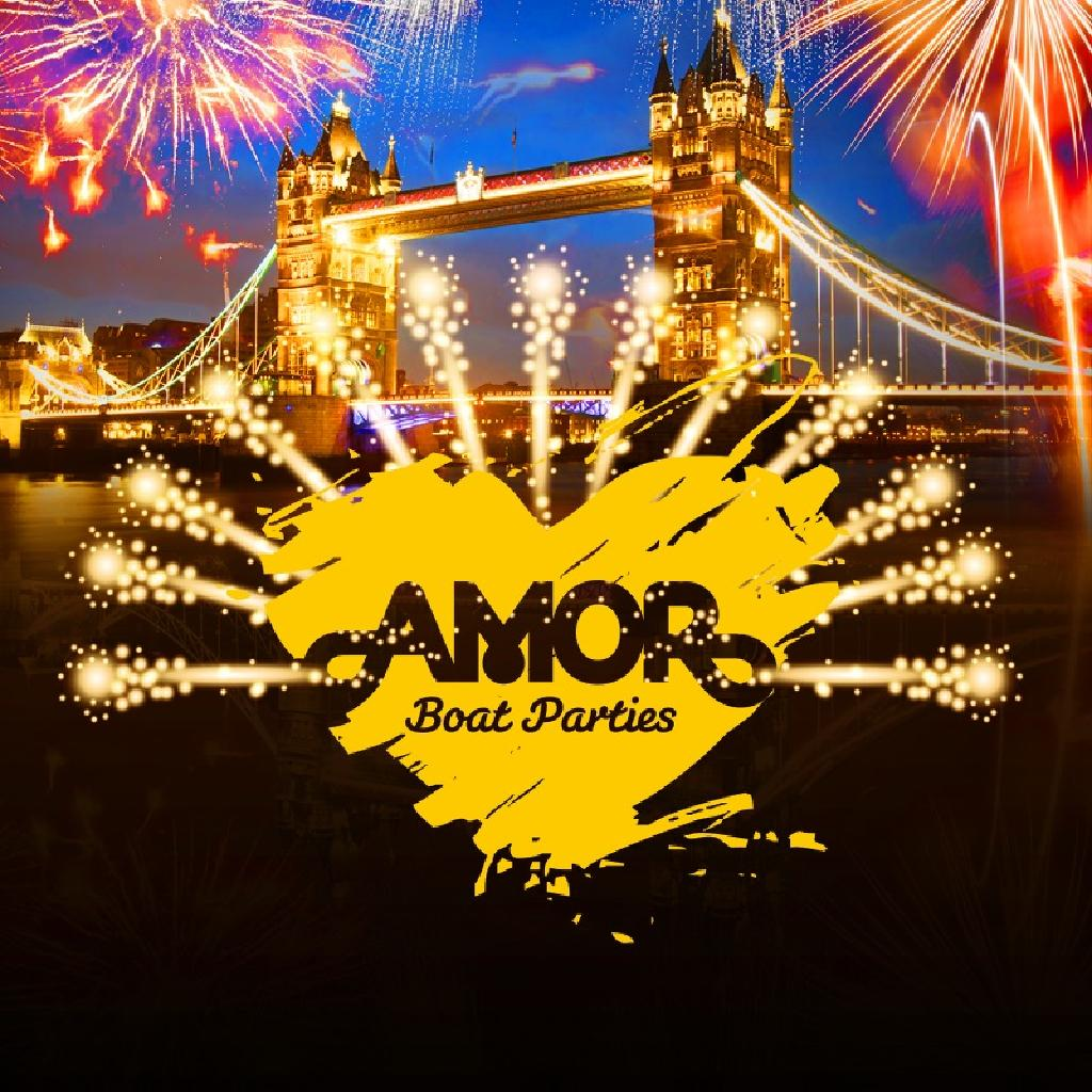 Amor New Year's Eve Trio - 3 in 1 Boat Party & two Clubs