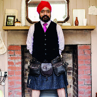 An evening with Chef Tony Singh