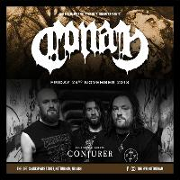 Conan & Conjurer + support