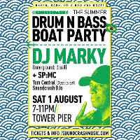 Summer DRUM N BASS BOAT PARTY with: DJ MARKY & SP:MC