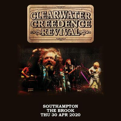 AGMP presents: CLEARWATER CREEDENCE REVIVAL - Celebrating 50 years since the Woodstock Festival, live in Southampton.