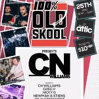 100% OLD SKOOL Presents.... CN Williams