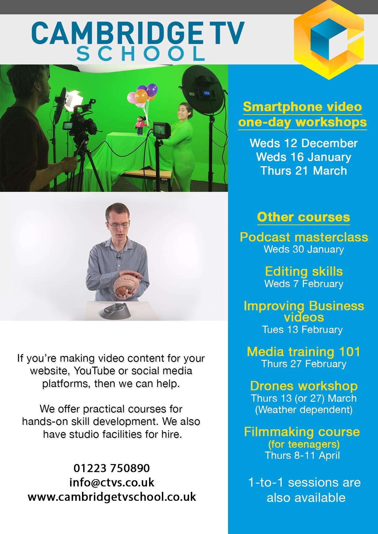 Film Making Course For Teenagers Cambridge Tv School Cambridge