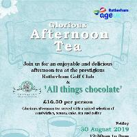 Age UK Rotherham, Glorious Afternoon Tea - Friday 30 August 2019