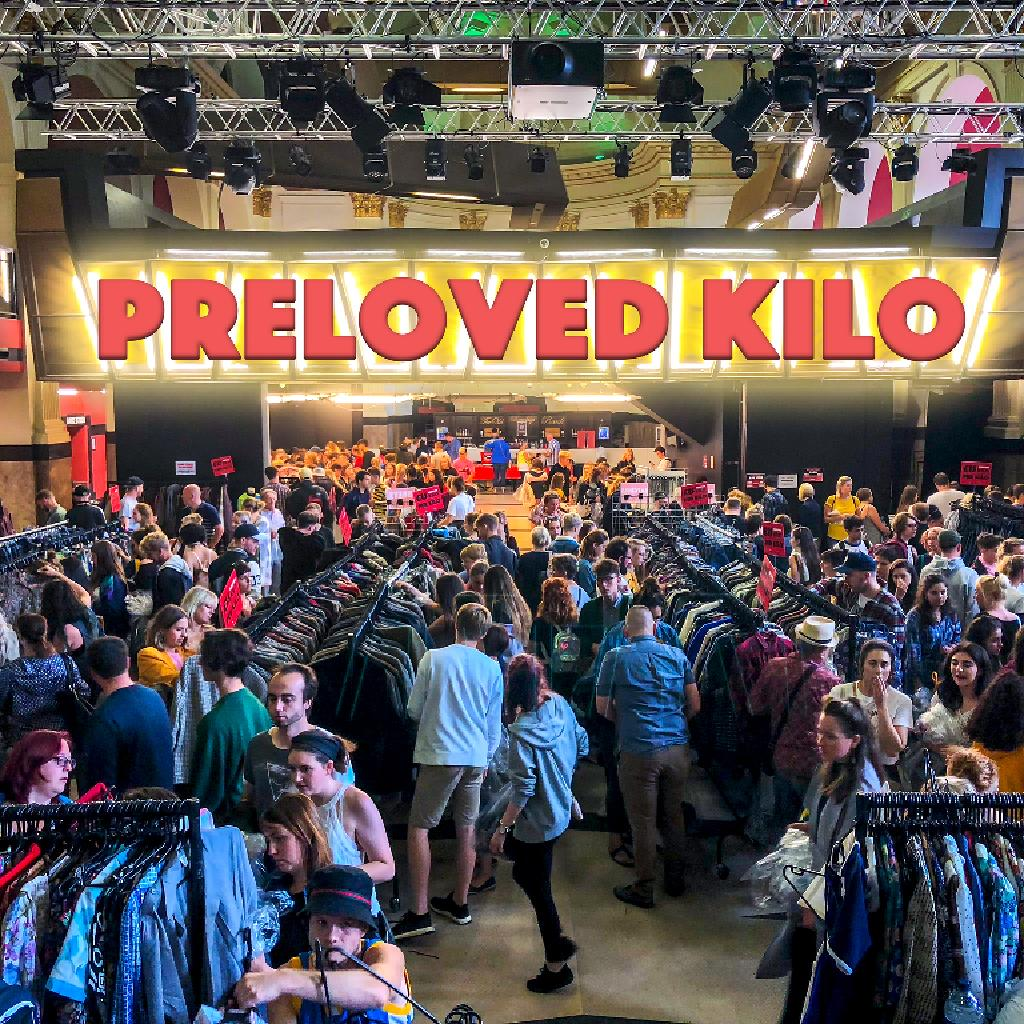 Cambridge Preloved Vintage Kilo