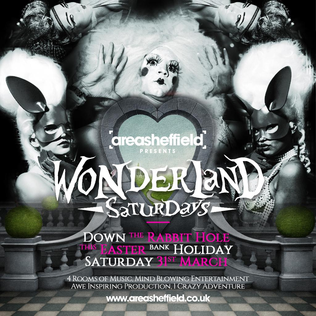 Wonderland Saturdays Easter Bank Holiday Special