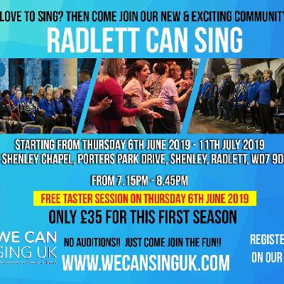 RADLETT CAN Sing Community Choir
