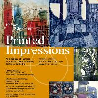 """Printed Impressions"""" Exhibition and Printing Workshop"""