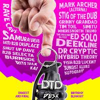 Ed Solo b2b Deekline, Mark Archer(Altern8) at DTDs 6th Birthday!