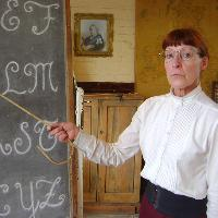 Step back in time to a Victorian classroom