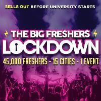 PORTSMOUTH FRESHERS - THE BIG FRESHERS LOCKDOWN !!!