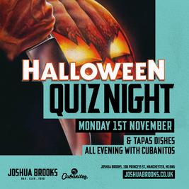 Halloween Quiz at Joshua Brooks!