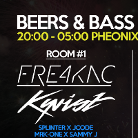 Beers & Bass NYE Special ft Kyrist & Fre4knc