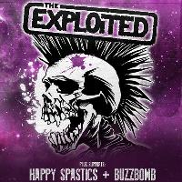 The Exploited + Happy Spastics, Buzzbomb