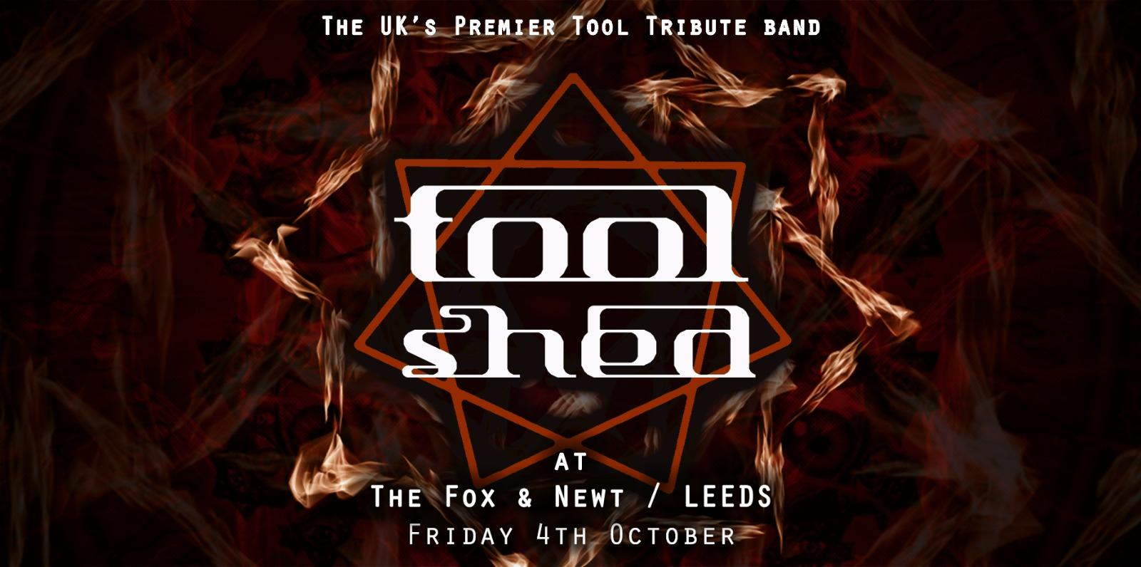 Tool Shed live @ The Fox & Newt, Leeds at The Fox And Newt Pub Leeds
