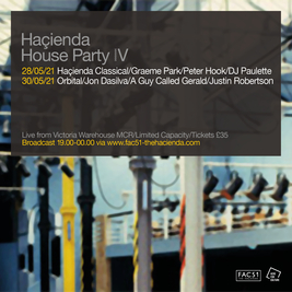 Hacienda House Party IV - Orbital Live