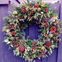 Christmas Wreath Workshop with Lily & Myrtle Florist