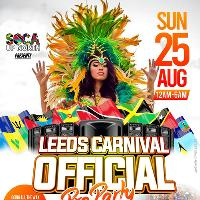 Leeds Carnival OFFICIAL Pre Party