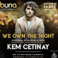 Party with Kem Cetinay from Love Island and Dancing on Ice star