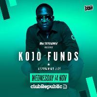 Kojo Funds live at Club Republic