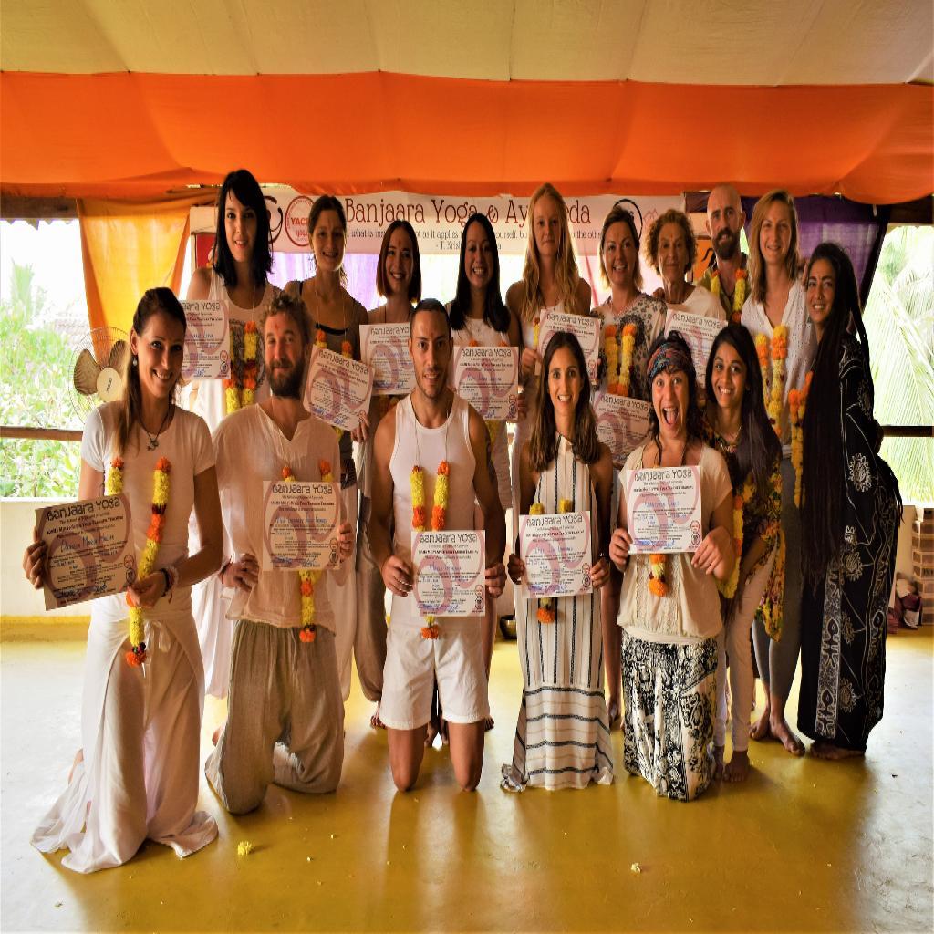200Hr Yoga Teacher Training in Dharamsala & Goa, India (28 Days)
