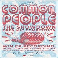 Common people: the showdown (open mic competition) - application