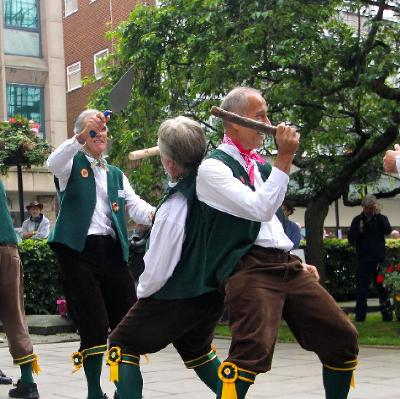 Shrewsbury Morris Taster session