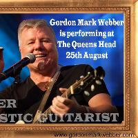 Gordon Mark Webber (Singer/Guitarist)