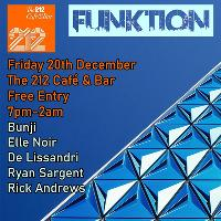 Funktion at 212 Cafe & Bar: Mad Friday! 20.12.19