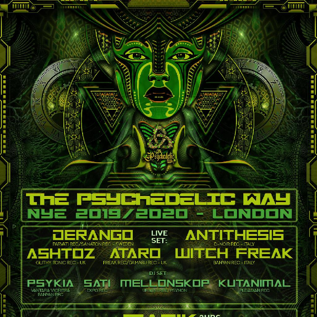 The Psychedelic Way NYE 2019/20 ! Psytrance Secret Rave