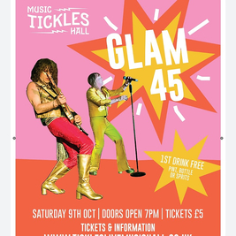 Glam 45 Live At Tickles