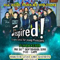 Inspired! Fundraiser - Fri 28th September // £5 Entry