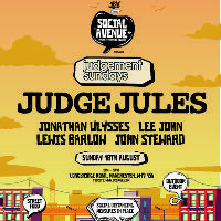 Social Avenue presents: Judgement Sundays w/ Judge Jules