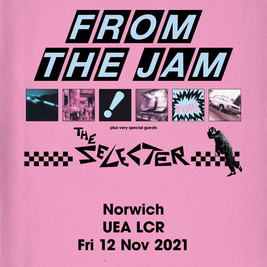 From The Jam 'Sound Affects' Tour + The Selector