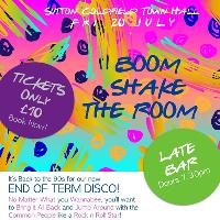 Boom! Shake the Room! Summer Party