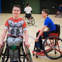 West Midlands Wheelchair Basketball Skills Camp