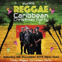 Funky Reggae Caribbean Christmas Party