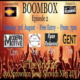 BOOMBOX @The Brickies : Series 2