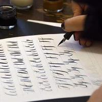 Christmas Calligraphy Workshop