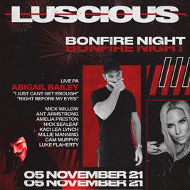 Luscious - Bonfire Night