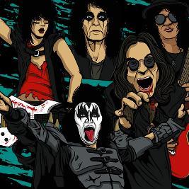Kickstart My Heart - 80s Metal & Power Ballads Night (Edinburgh)