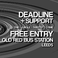 Free Entry* The Wasted Kollective Takeover Leeds feat. Deadline