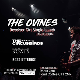 The Ovines - Revolver Girl Launch Party