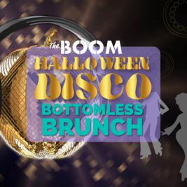 Boom Bottomless Halloween Disco Brunch